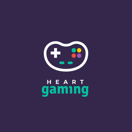 Outline vector icon of game pad. 矢量图像