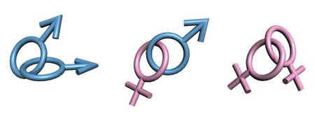 Logotipo de sexualidad  Foto de archivo - 8909788