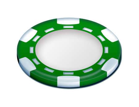 tokens: Green poker token