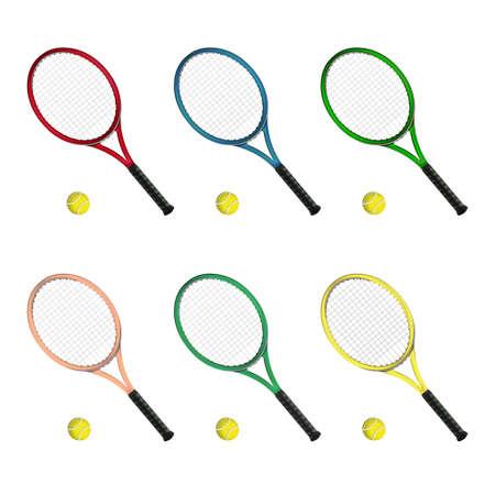 tennis racket: Tennis rackets
