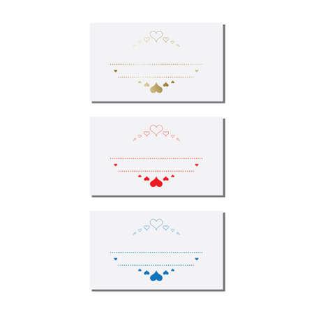 Abstract  logo design templates with shields .  creative sign. vector Ilustração