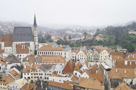 European City of Cesky Krumlov in Czech Stock Photo - 10827754