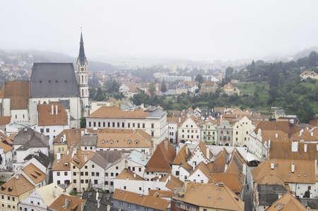 European City of Cesky Krumlov in Czech Stock Photo - 10827754