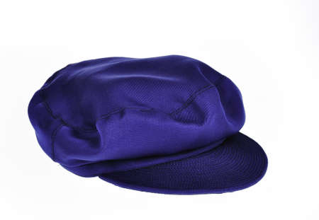A traditional blue chinese hat generally worn by the communist party