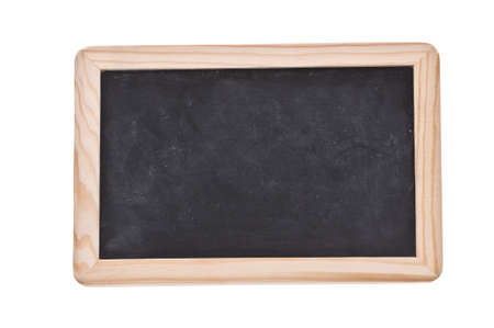 Dirty Mini Chalkboard with over the white background