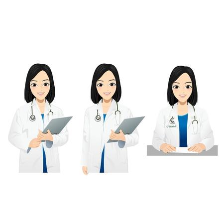 Beautiful Doctor Stock Vector - 16712605