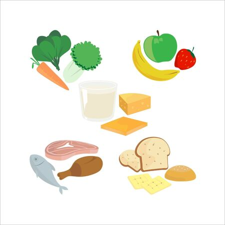 Food icons Stock Vector - 16712601