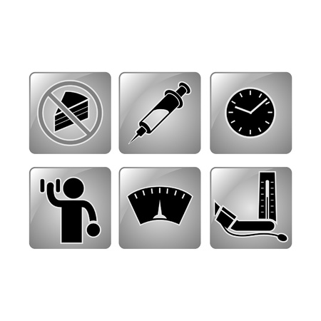injecting: Healthy icons