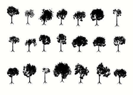 Various Trees.