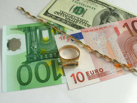 Money and gold Stock Photo - 408505