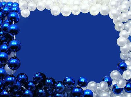 Celebratory Frame of beads