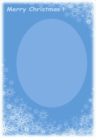 Christmas Frame for photo and celebratory card Stock Photo - 602800