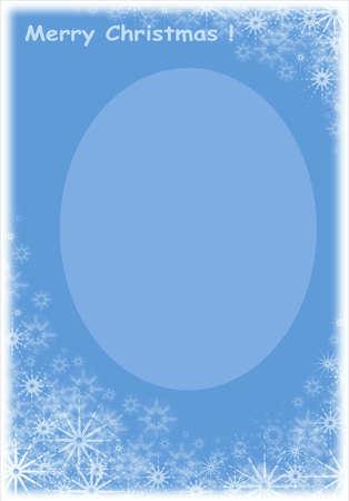Christmas Frame for photo and celebratory card Stock Photo - 602800