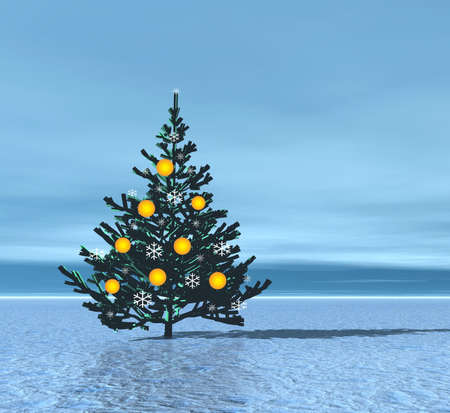 Christmas tree Stock Photo - 609560