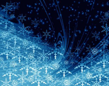 blizzards: Christmas background