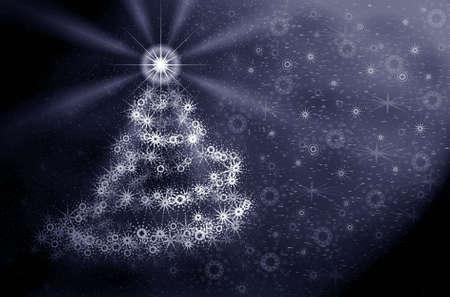 Christmas tree. Star Stock Photo - 626716