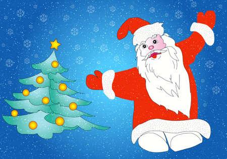 Christmas  Santa Claus.  photo