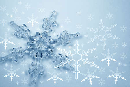 Christmas decoration - snowflakes Stock Photo - 656297