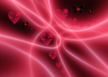 Abstraction background for design artwork for Valentines day Stock Photo - 699106