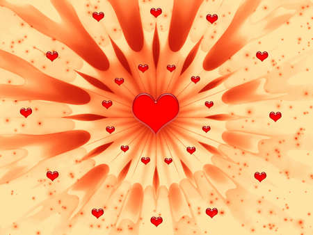 Abstract for design artwork for holidays -Valentines day and wedding Stock Photo - 705070