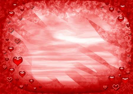 Valentines frame photo