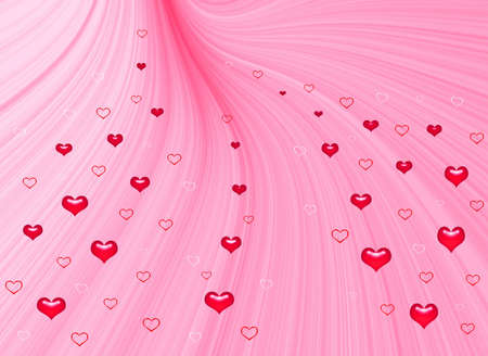 Fine pink background for holidays - Valentine day and wedding Stock Photo