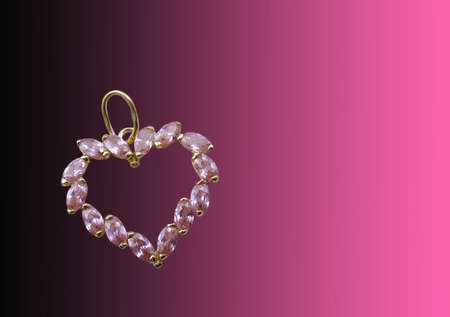 Valentines jewelry card photo