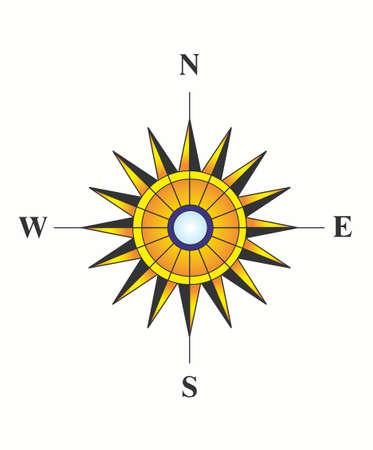 Sunny compass photo
