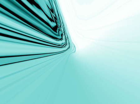 smoky: Abstraction blue background