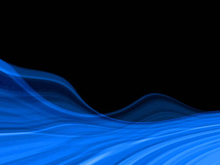 Abstraction blue background Stock Photo - 737867