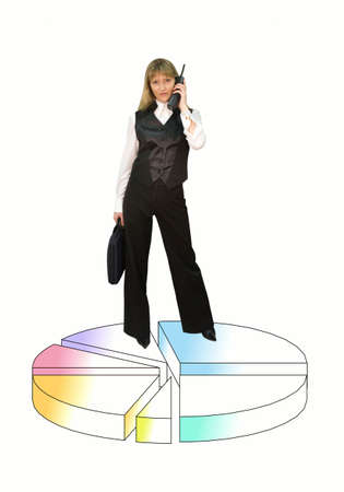 Business lady photo