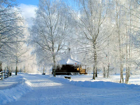 Winter fairy tale photo