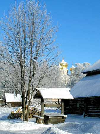 Winter country photo
