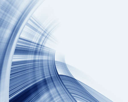 Abstraction blue & white background photo