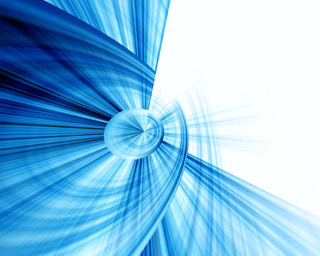 Abstraction blue & white background Stock Photo - 810109