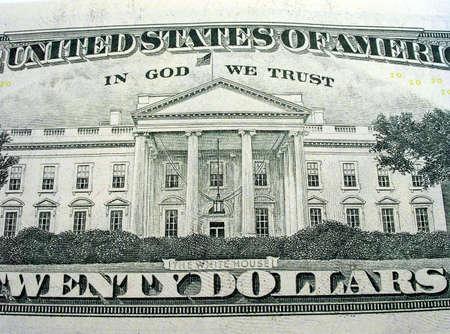 edifice: American dollars close-up.