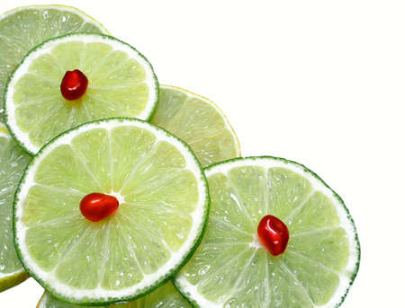 morsels: Morsels of limes.