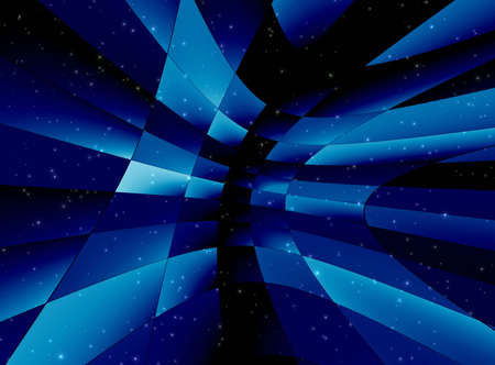 Abstraction blue background for design artwork photo