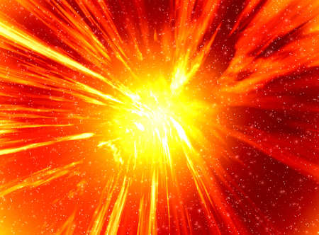 detonation: Space abstraction background for design artworks