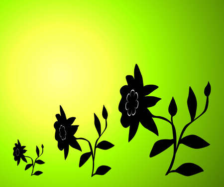 Floral background Stock Photo - 848901