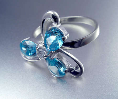 Sapphire ring Stock Photo - 864671