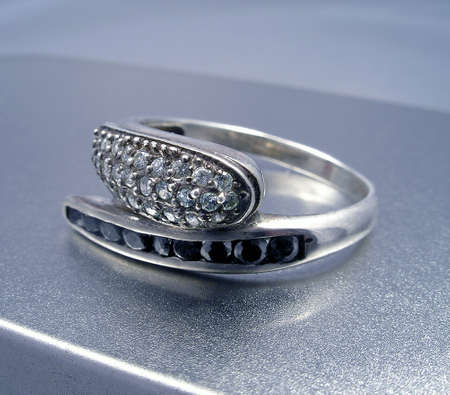 Silver ring Stock Photo - 864724
