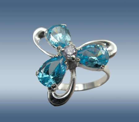 Sapphire ring Stock Photo - 864736