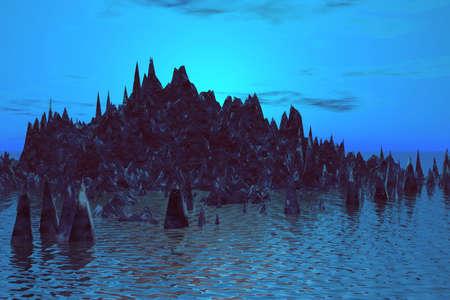 Evening landscape  Stock Photo - 873050