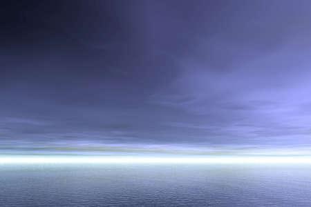 Evening  3D landscape Stock Photo - 934047