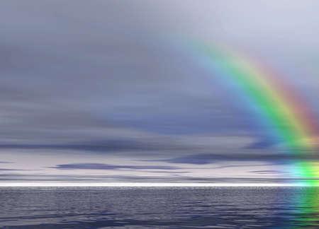 Rainbow after rain Stock Photo - 934059