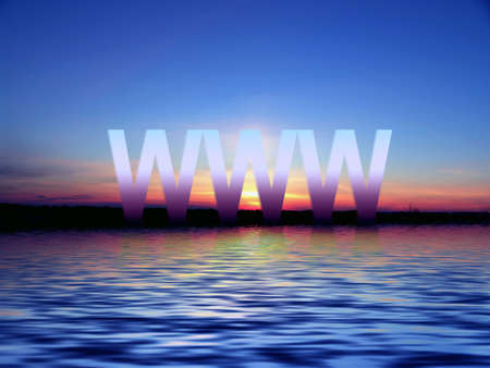 polychromatic: Sunset. WWW Stock Photo