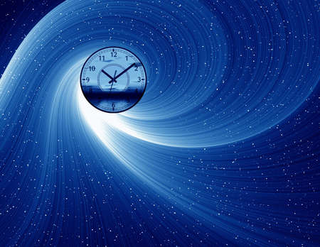 Abstraction background  with hours photo