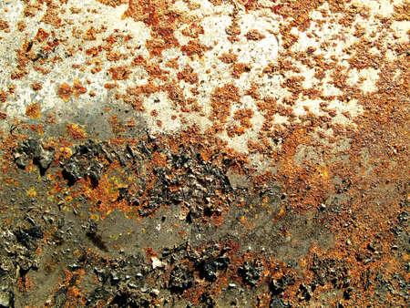 unsuitable: Rusty old metallic texture