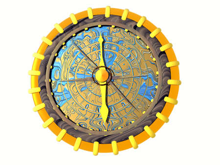 Compass. 3D illustration illustration